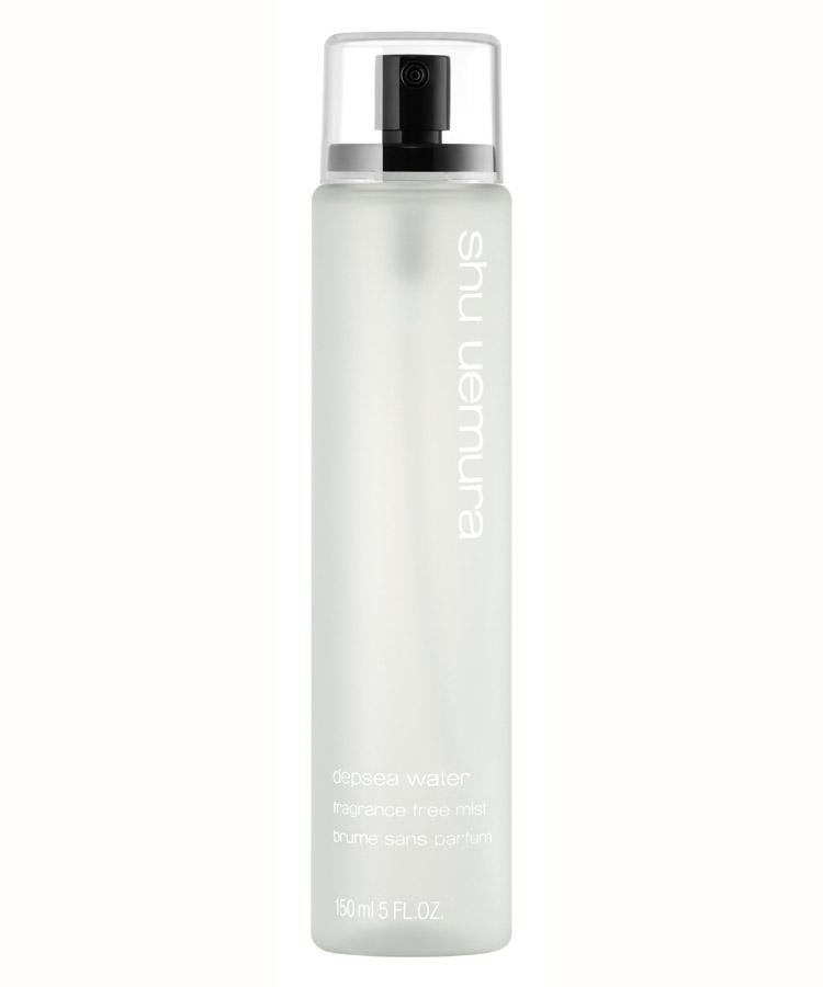 how i keep my skin looking fresh - shu uemura depsea water facial mist (2/2)