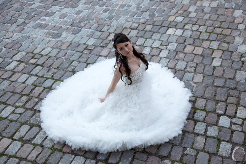 bridal dolly eyes - meet beautiful bride shan-shan (2/6)