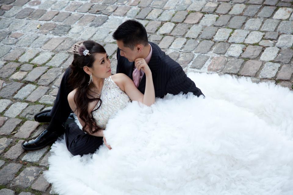 bridal dolly eyes - meet beautiful bride shan-shan (3/6)